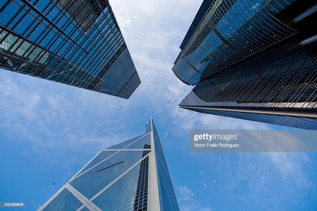11 June 2008 Hong Kong China Bank of China Tower designed by ChineseAmerican architect IM Pei Citibank Plaza or the Asia Pacific Finance Tower and...