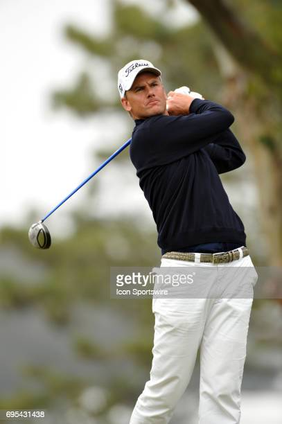 Robert Karlsson during the third round of the US Open Championship at Torrey Pines South Golf Course in San Diego CA
