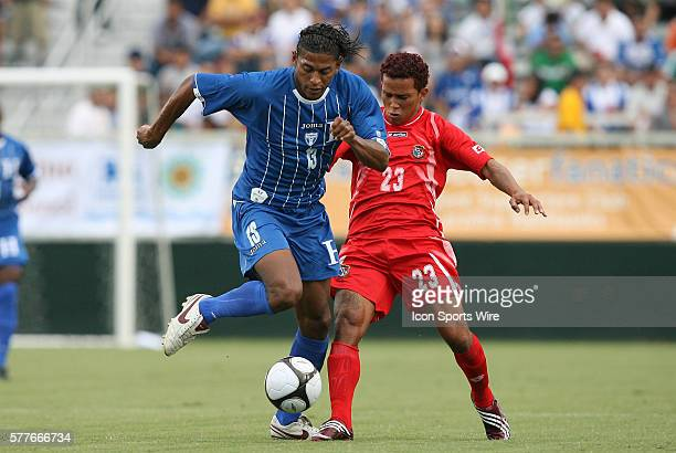 Carlos Costly and Amilcar Henriquez The Honduras Men's National Team played the Panama Men's National Team at the WakeMed Stadium in Cary North...
