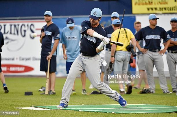 California League AllStar Jesse Winker swings during the