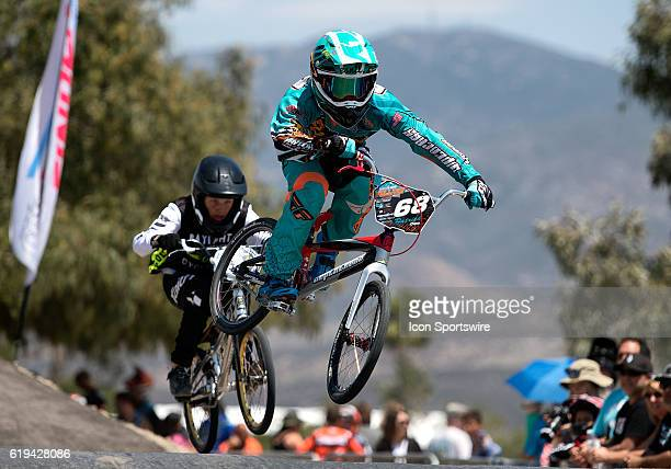 Full Tilt Bike Company's Patrick Coo took the win in the 14 Expert class during Day 1 of USA BMX's Hall of Fame Nationals at Chula Vista BMX in Chula...