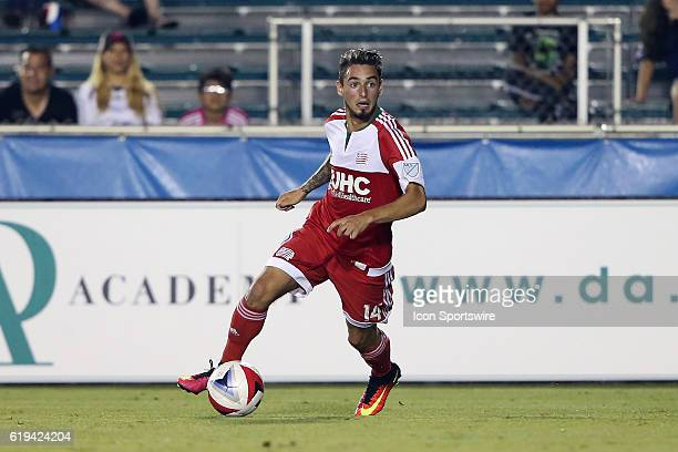 New England's Diego Fagundez The Carolina RailHawks hosted the New England Revolution at WakeMed Stadium in Cary North Carolina in a 2016 Lamar Hunt...