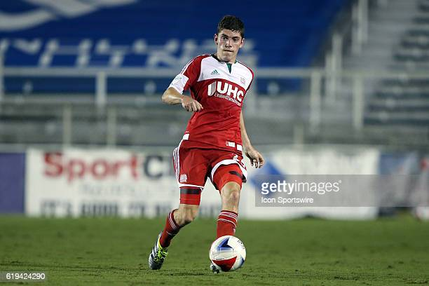 New England's Donnie Smith The Carolina RailHawks hosted the New England Revolution at WakeMed Stadium in Cary North Carolina in a 2016 Lamar Hunt US...