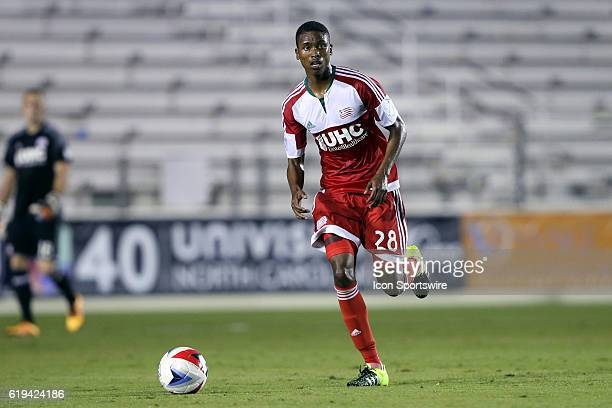 New England's London Woodberry The Carolina RailHawks hosted the New England Revolution at WakeMed Stadium in Cary North Carolina in a 2016 Lamar...