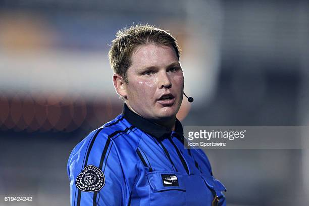 Referee Kevin Terry Jr The Carolina RailHawks hosted the New England Revolution at WakeMed Stadium in Cary North Carolina in a 2016 Lamar Hunt US...