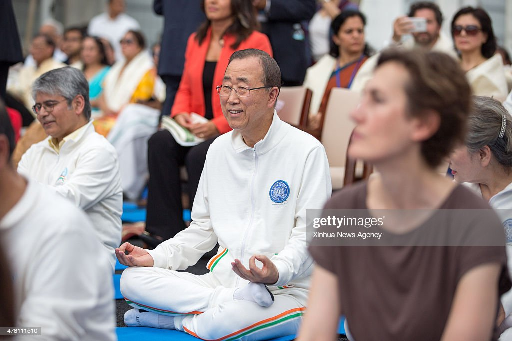 june 21 2015 ban ki moon secretary general of united nations joins hundreds in performing. Black Bedroom Furniture Sets. Home Design Ideas