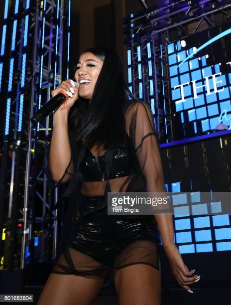 Mila J performs at The Pool After Dark at Harrah's Resort on Saturday June 25 2017 in Atlantic City New Jersey