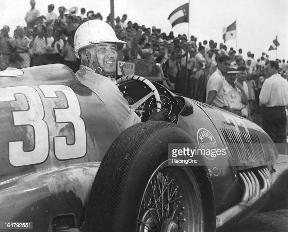 Lee Wallard drove this AlfaRomeo for car owner Milt Marion in the AAA Indy Car race at Langhorne Speedway