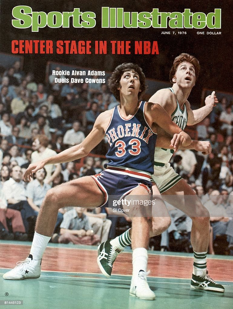 Phoenix Suns Alvan Adams 1976 NBA Finals