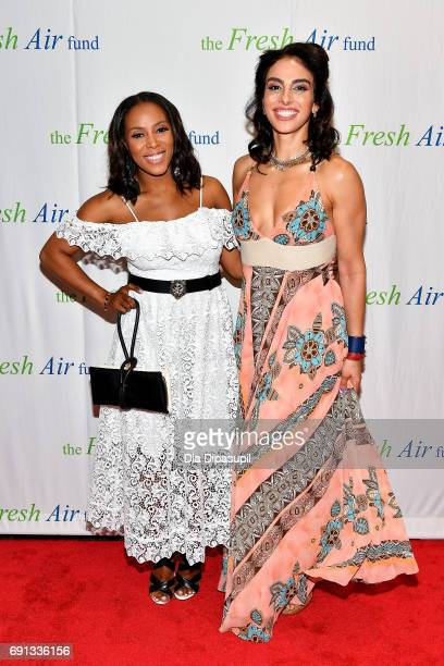 June Ambrose and Shari Loeffler attend the 2017 Fresh Air Fund Spring Benefit at Pier Sixty at Chelsea Piers on June 1 2017 in New York City