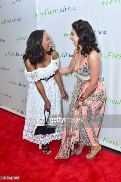 June Ambrose and Shari Loeffler attend The Fresh Air Fund's Spring Benefit 2017 at Pier Sixty Chelsea Piers on June 1 2017 in New York City