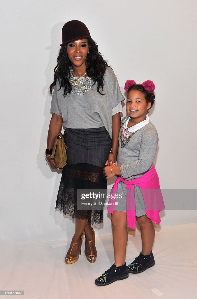 <a gi-track='captionPersonalityLinkClicked' href=/galleries/search?phrase=June+Ambrose&family=editorial&specificpeople=619410 ng-click='$event.stopPropagation()'>June Ambrose</a> and Summer Chamblin attend the BCBGMAXAZRIA show during Spring 2014 Mercedes-Benz Fashion Week at The Theatre at Lincoln Center on September 5, 2013 in New York City.