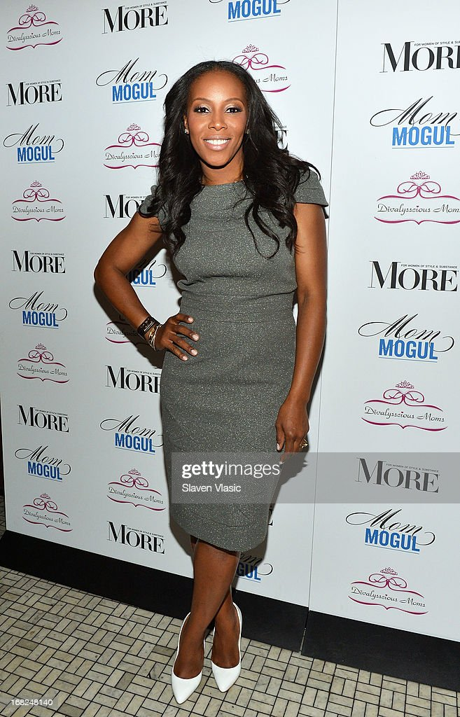 June Ambrose attends 2013 Mom Mogul Breakfast at Bond 45 on May 7, 2013 in New York City.