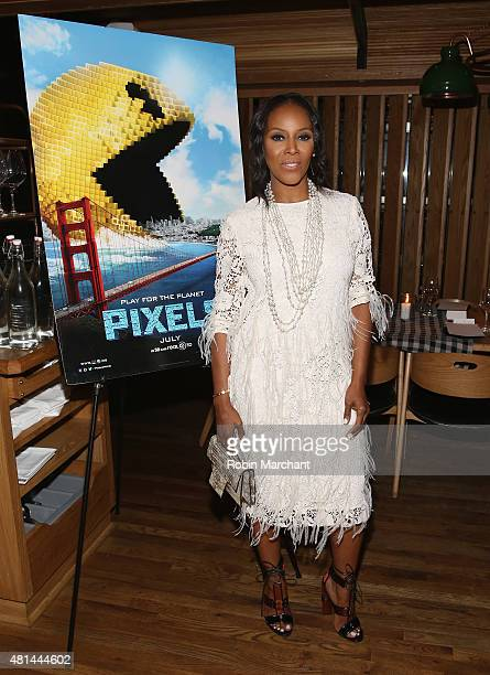 June Ambrose attends a Dinner Honoring The Women Of 'Pixels' at Upland on July 20 2015 in New York City