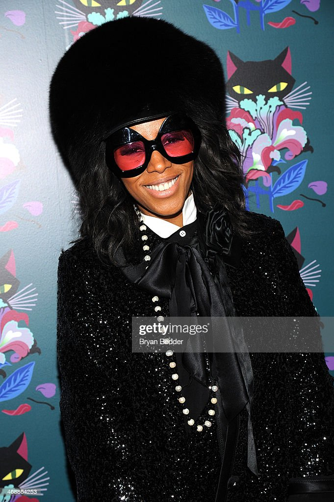 June Ambrose attends Miu Miu Women's Tales 7th Edition - 'Spark & Light' Screening - Arrivals at Diamond Horseshoe on February 11, 2014 in New York City.