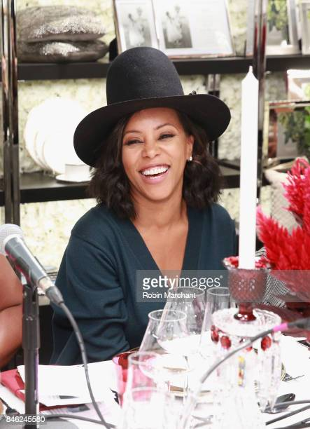June Ambrose attends SiriusXM Host Bevy Smith Hosts A Radio Special Celebrating The Anniversary Of Andy Cohen's SiriusXM Channel Radio Andy at...