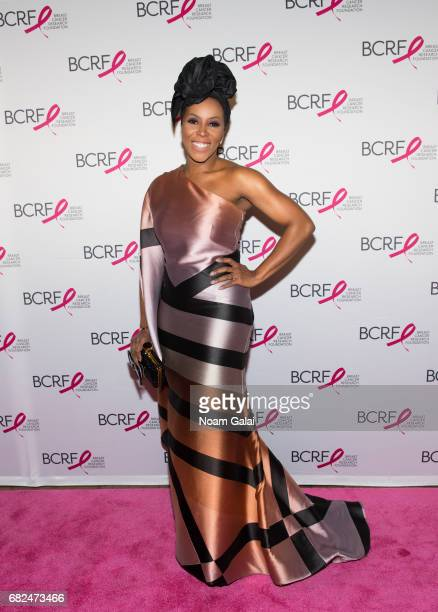 June Ambrose attends the 2017 Breast Cancer Research Foundation Hot Pink Party at Park Avenue Armory on May 12 2017 in New York City