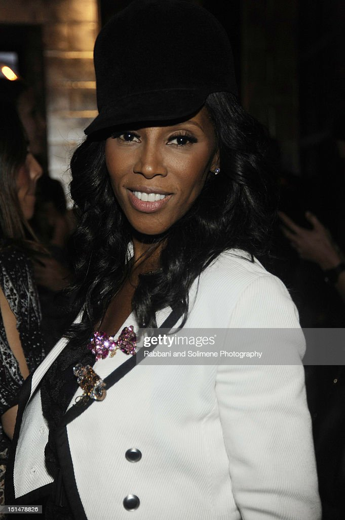 June Ambrose attends the Destination Iman Website Launch Party at Dream Downtown on September 7, 2012 in New York City.