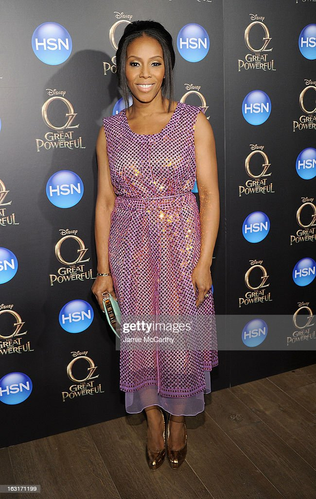 June Ambrose attends the 'Oz The Great And Powerful' VIP screening at the Crosby Street Hotel on March 5, 2013 in New York City.