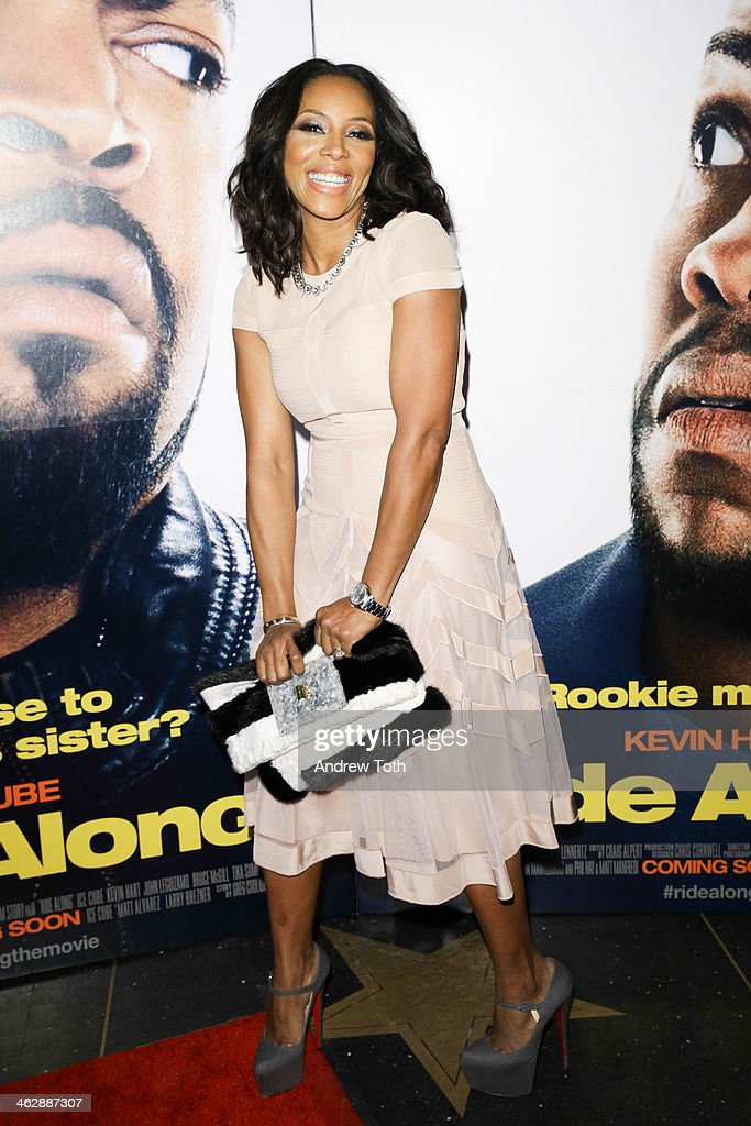 <a gi-track='captionPersonalityLinkClicked' href=/galleries/search?phrase=June+Ambrose&family=editorial&specificpeople=619410 ng-click='$event.stopPropagation()'>June Ambrose</a> attends the 'Ride Along' screening at AMC Loews Lincoln Square on January 15, 2014 in New York City.