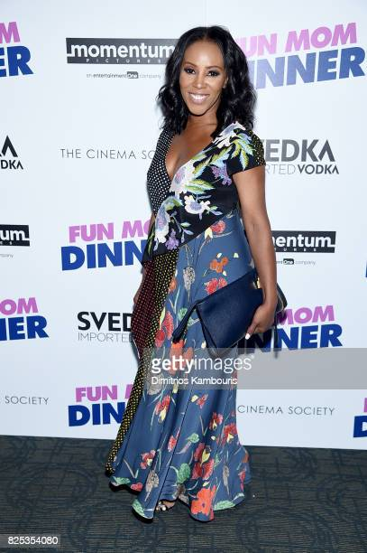 June Ambrose attends the screening Of 'Fun Mom Dinner' at Landmark Sunshine Cinema on August 1 2017 in New York City