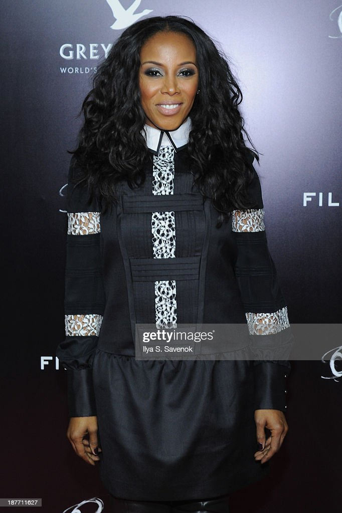 <a gi-track='captionPersonalityLinkClicked' href=/galleries/search?phrase=June+Ambrose&family=editorial&specificpeople=619410 ng-click='$event.stopPropagation()'>June Ambrose</a> attends the screening of 'Oldboy' hosted by FilmDistrict and Complex Media with the Cinema Society and Grey Goose at AMC Lincoln Square Theater on November 11, 2013 in New York City.
