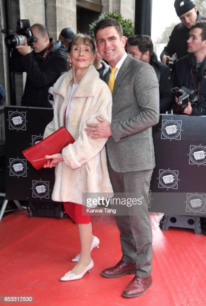 June Brown and Scott Maslen attend the TRIC Awards 2017 at the Grosvenor House on March 14 2017 in London United Kingdom