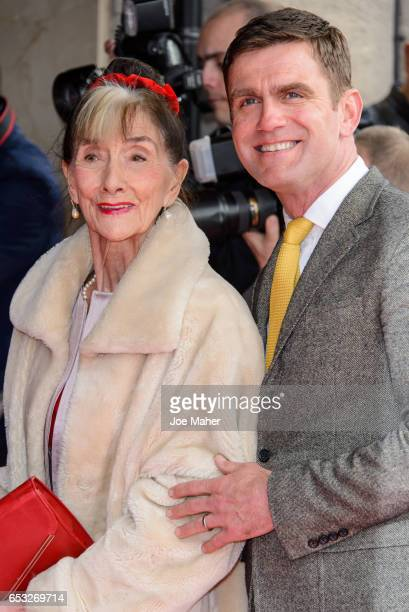 June Brown and Scott Maslen attend the TRIC Awards 2017 on March 14 2017 in London United Kingdom
