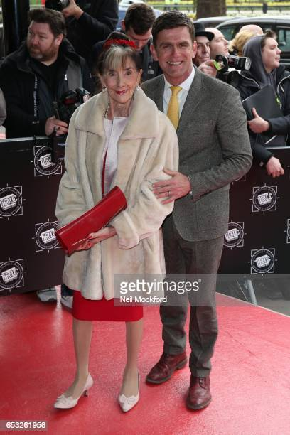 June Brown and Scott Maslen attends the TRIC Awards 2017 on March 14 2017 in London United Kingdom