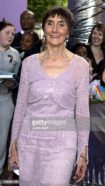 June Brown Attends The 2005 British Soap Awards In London