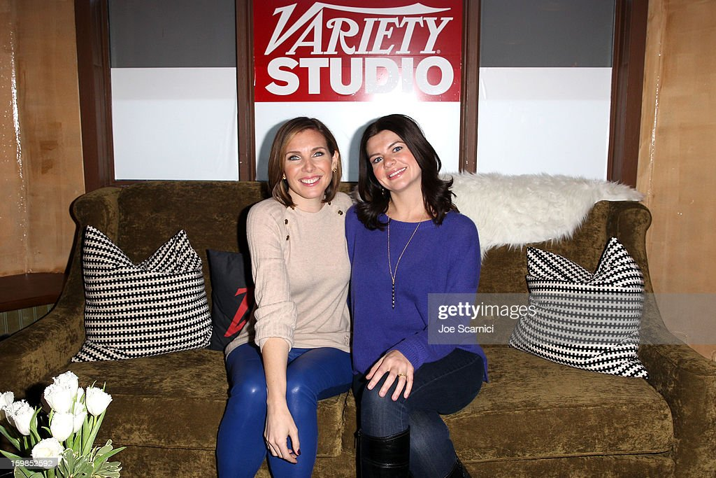 June Diane Raphael and Casey Wilson attend Day 3 of the Variety Studio At 2013 Sundance Film Festival on January 21, 2013 in Park City, Utah.