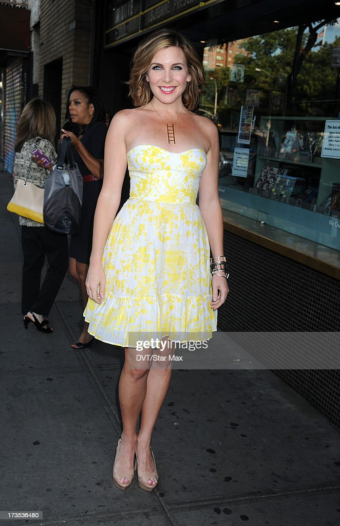 June Diane Raphael as seen on July 15, 2013 in New York City.