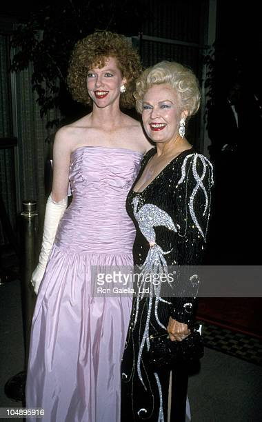 June Haver's Daughter and June Haver during Jewel Gala at Beverly Hilton Hotel in Beverly Hills California United States