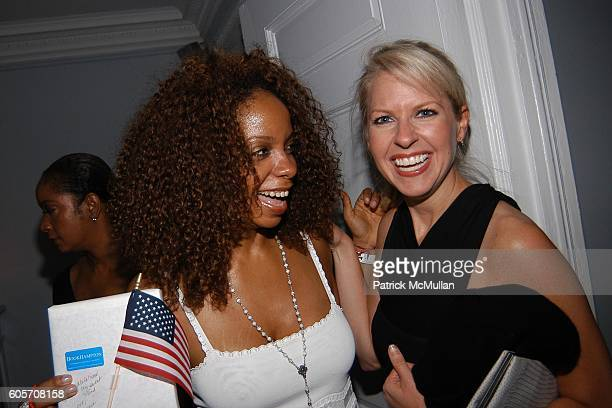 June Haynes and Monica Crowley attend Party to Celebrate June Haynes' US Citizenship at Private Residence on July 26 2006 in New York City