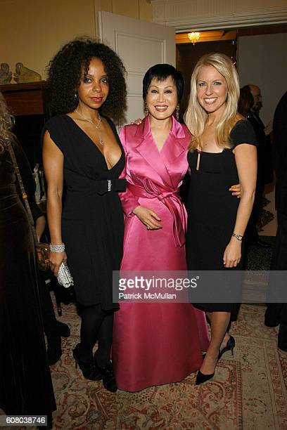 June Haynes YueSai Kan and Monica Crowley attend RICHARD TURLEY Birthday Dinner at The Home of YueSai Kan on December 21 2006 in New York City