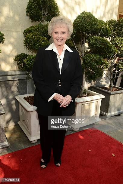 June Lockhart arrives at The Actors Fund 17th Annual Tony Awards Viewing Party held at Taglyan Cultural Complex on June 9 2013 in Hollywood California