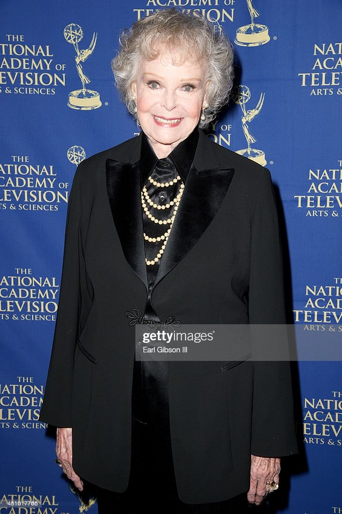 <a gi-track='captionPersonalityLinkClicked' href=/galleries/search?phrase=June+Lockhart&family=editorial&specificpeople=856438 ng-click='$event.stopPropagation()'>June Lockhart</a> attends the Daytime Creative Arts Emmy Awards Gala at the Westin Bonaventure Hotel on June 20, 2014 in Los Angeles, California.
