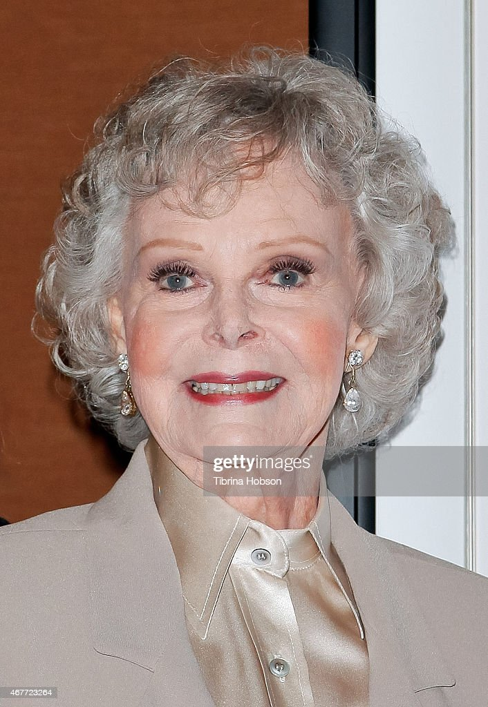 June Lockhart attends the Hollywood Chamber of Commerce honoring her with a Lifetime Achievement Award at the Universal Hilton Hotel on March 26, 2015 in Universal City, California.