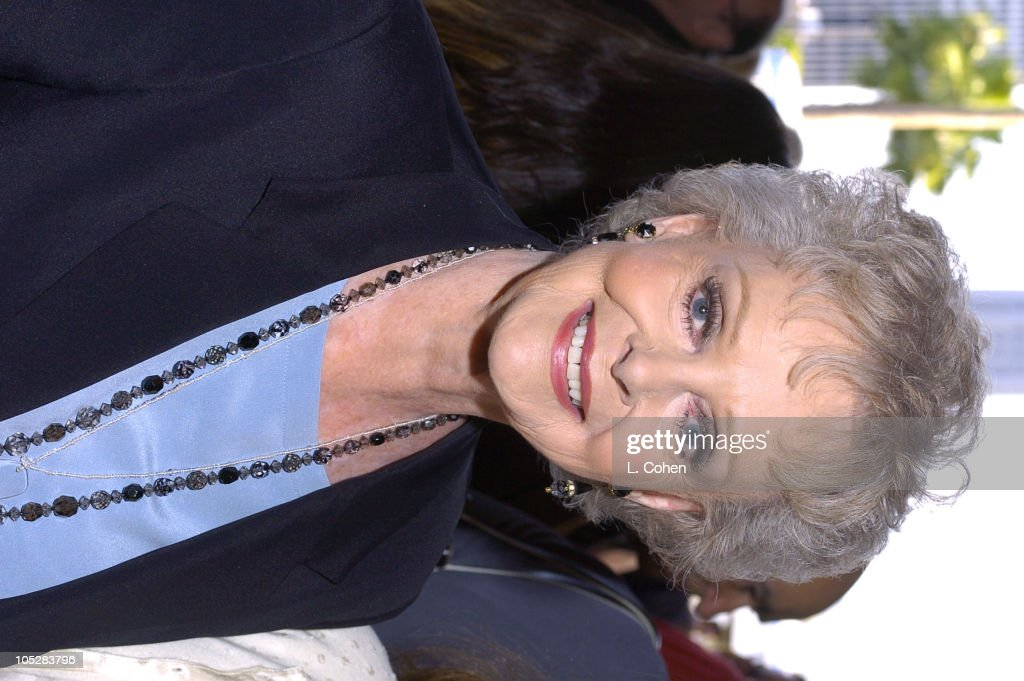 June Lockhart during 'Mamma Mia!' Los Angeles Premiere - Red Carpet at Pantages Theatre in Hollywood, California, United States.