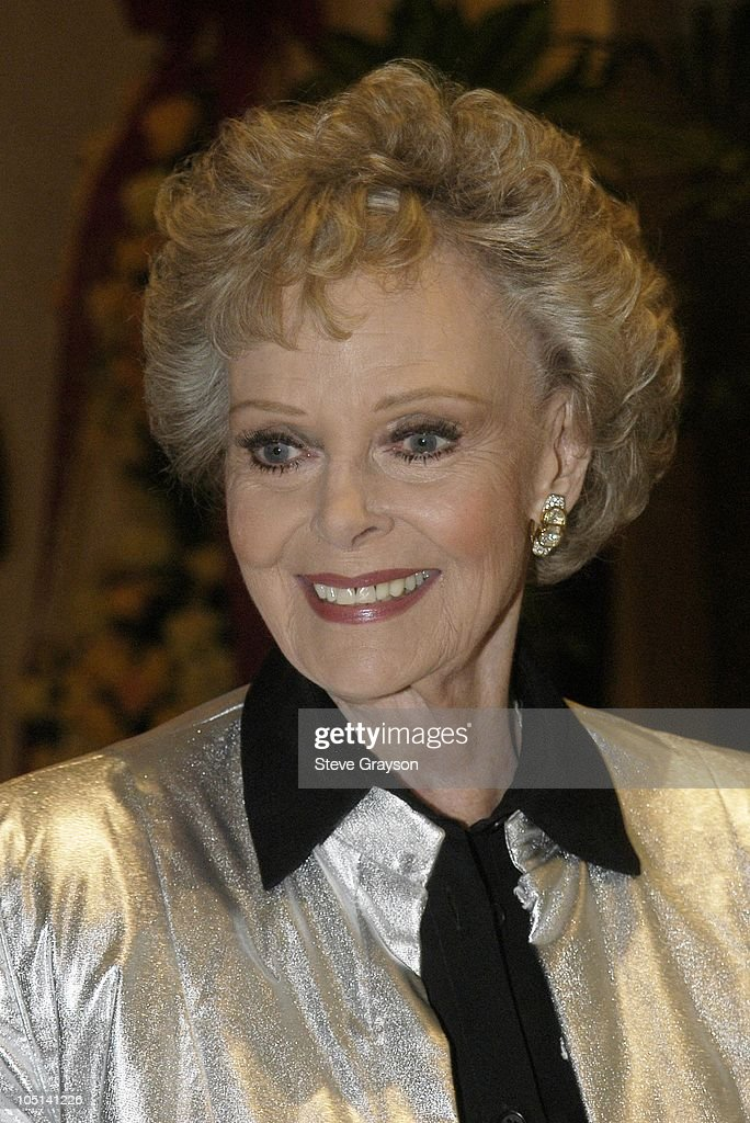 June Lockhart during The 2003 Trendsetters in Television Tribute to Icons in Film at The Beverly Hills Hilton Hotel in Beverly Hills, California, United States.