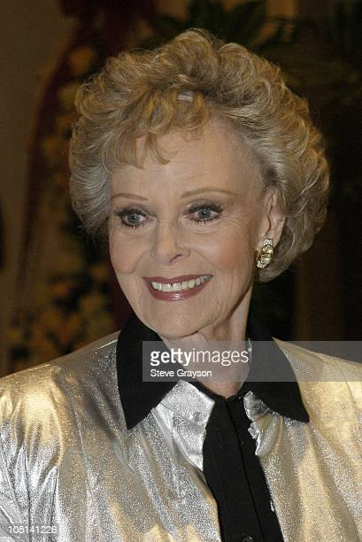 June Lockhart during The 2003 Trendsetters in Television Tribute to Icons in Film at The Beverly Hills Hilton Hotel in Beverly Hills California...