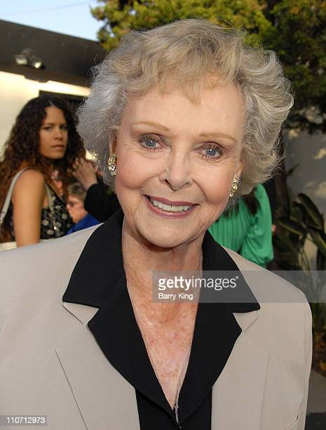 June Lockhart during Venice Magazine Hosts After Party for 'The 25th Annual Putnam County Spelling Bee' Opening Night at Wadsworth Theatre in Los...