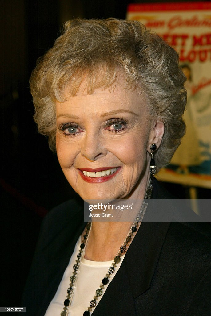 June Lockhart during Warner Home Video Celebrates The 60th Anniversary DVD Release of America's Classic 'Meet Me In St. Louis' at Directors Guild of America in Los Angeles, California, United States.