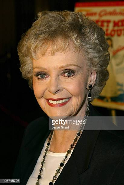 June Lockhart during Warner Home Video Celebrates The 60th Anniversary DVD Release of America's Classic 'Meet Me In St Louis' at Directors Guild of...