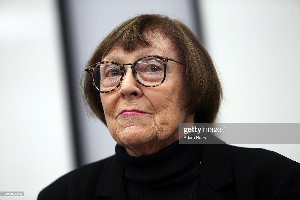 June Newton, president of the Helmut Newton Foundation, ...