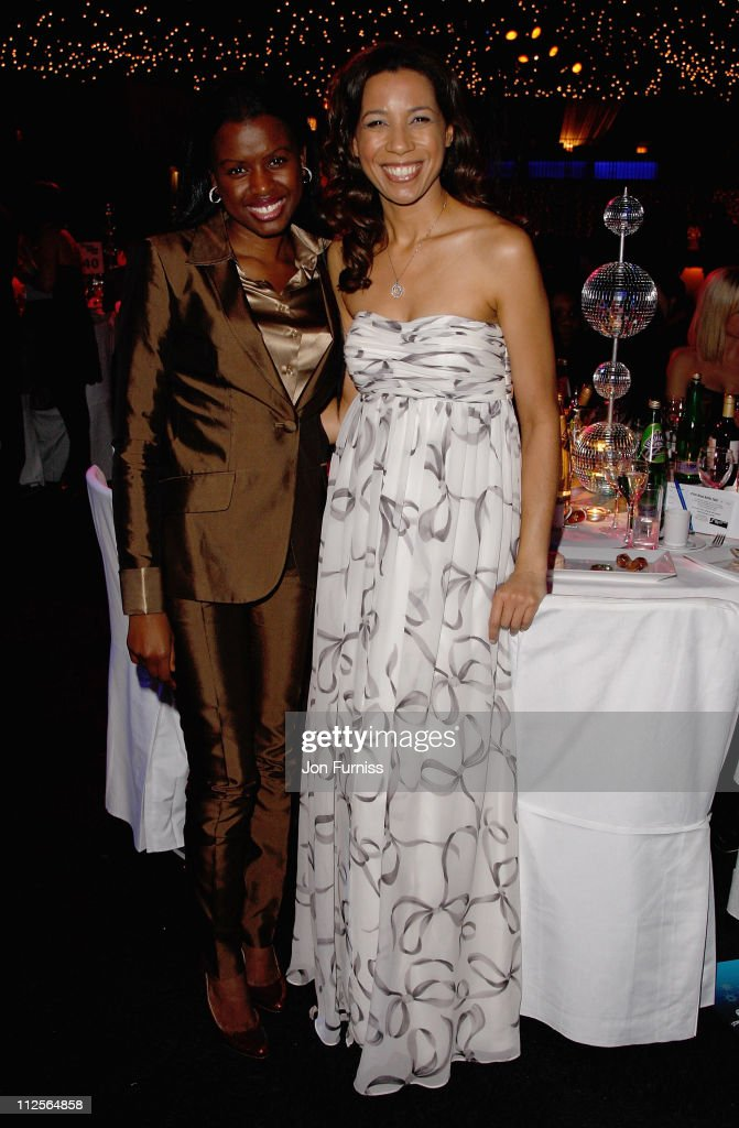 June Sarpong and Margarita Taylor during Capital Rocks in association with Capital Radio and the charity Help a London Child, held at the Battersea Evolution on December 11, 2007 in London, England.