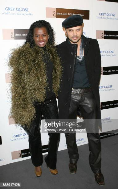 June Sarpong arrives at the Grey Goose Vodka and The Elton John AIDS Foundation VIP launch party One Piazza Covent Garden London
