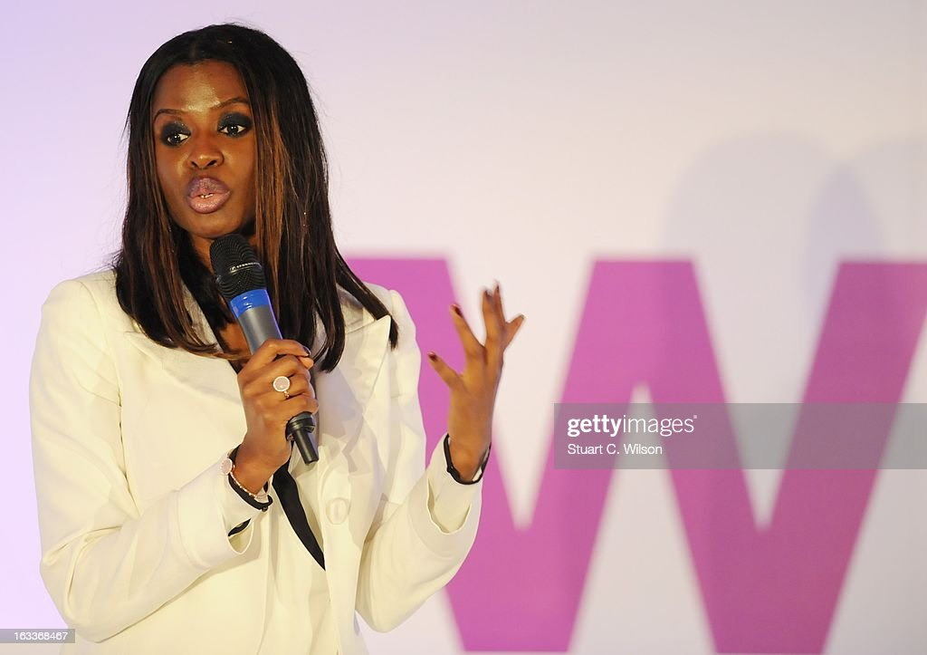 <a gi-track='captionPersonalityLinkClicked' href=/galleries/search?phrase=June+Sarpong&family=editorial&specificpeople=211482 ng-click='$event.stopPropagation()'>June Sarpong</a> attends the annual WIE Symposium at The Hospital Club on March 8, 2013 in London, England.