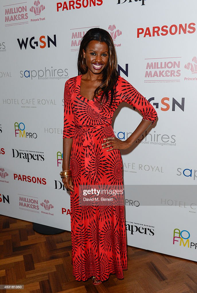 <a gi-track='captionPersonalityLinkClicked' href=/galleries/search?phrase=June+Sarpong&family=editorial&specificpeople=211482 ng-click='$event.stopPropagation()'>June Sarpong</a> attends the VIP charity event, which Drapers and WGSN Group, partnered with Parsons The New School for Design and the British Fashion Council to hold, in aid of the Prince's Trust Million Makers on August 4, 2014 in London, England. The event saw the launch the acclaimed book 'The School of Fashion: 30 Parsons Designers' by Simon Collins, Dean of Fashion at Parsons. The richly-illustrated volume explores the legacy of Parsons through the testimony of its brightest alumni, with interviews and sketches from Donna Karan, Alexander Wang, Jack McCullough and Lazaro Hernandez of Proenza Schouler, and many others.