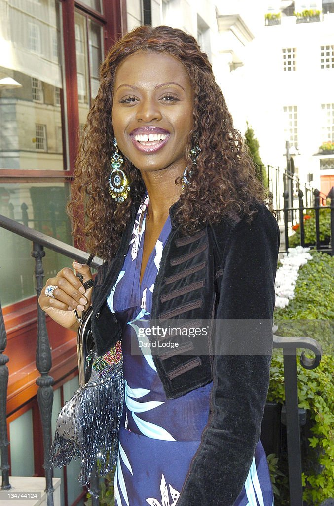 <a gi-track='captionPersonalityLinkClicked' href=/galleries/search?phrase=June+Sarpong&family=editorial&specificpeople=211482 ng-click='$event.stopPropagation()'>June Sarpong</a> during 2005 InStyle Shopping Awards - Winners Lunch at Morton's, Berkeley Square in London, Great Britain.